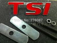 TSI TSI flags in front of the car TSI standard network standard car modification