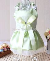Pet Spring And Summer Wedding Dress Dog Wedding Dress Teddy Dog skirt