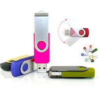 China Wholesale Swivel USB flash drive 8GB 16GB Memory stick Flash Drive Pen / Thumb Drive Free shipping by DHL & FEDEX