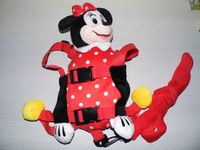 Animal Fun Backpack Minnie Mouse Goldbug Harness Buddy Animal Reins for Toddlers Child Safety Harness Animal 2 in 1 Children Bag
