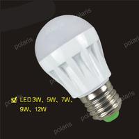 Quality Assurance E27 B22 Light Bulb 5W 9W 7W 10W 12W 15W LED Bulb Lamp, 220V Cold Warm White Led Spotlight Lamps Free Shipping