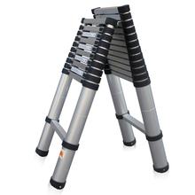 Engenharia liga dobrável multifuncional escada espessamento alumínio escada retrátil 2 m(China (Mainland))