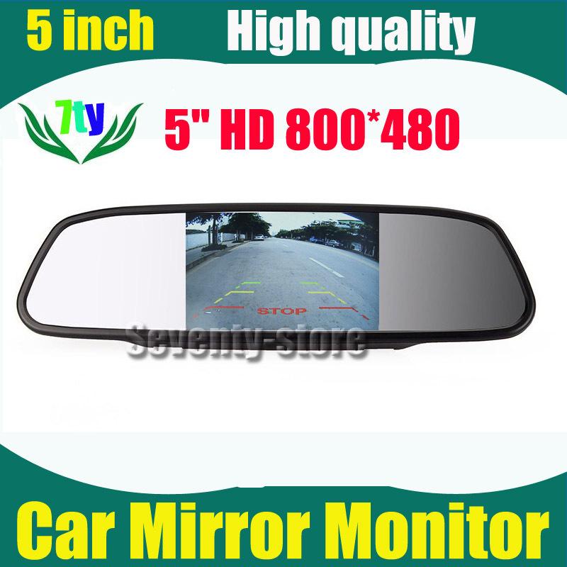 Автомобильный монитор HD 800 * 480 5 VCR 5/tft LCD автомобильный монитор 5 480 272 hd tft