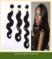 Aliexpress 6A Peruvian Body Wave unprocessed Julia Queen Hair 3/4pcs Best Quality Human Virgin Hair Extension full bundle