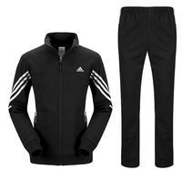 2014 men's cotton men's sports suit suits Straight type