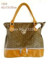 2014 new European and American fashion handbags  style shoulder bag diagonal package printing large bag ladies handbag