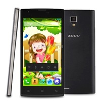 Original Zopo ZP780 White & Black & Blue Android 4.2 MTK6582 1.3GHz Quad Core 1GB+4GB 5 inch QHD Capacitive Screen 3G Phablet