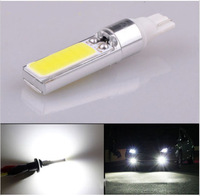 10PCS Super Bright White LED COB T10 W5W 10W fog / brake / down lights instrument lamp DHL EMS