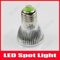 High Power E27 3w COB LED Light Bulb Dimmable LED Lamp Spotlight 260LM Cool White Warm White 10pcs/lot Free Shipping