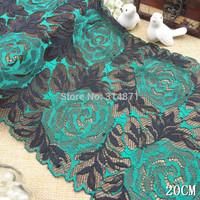 Free shipping! 201404s Fashion outside big wide side stretch lace DIY manual  20 cm