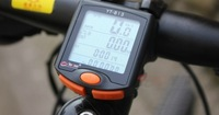 New LED Display Cycling Bicycle Bike 24 Functions Computer Odometer Speedometer Free Shipping