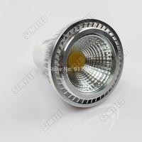 2014 New High Power MR16 12V 3W Led COB Spotlight Dimmable Lamps Bulb warm White / Cool White 5pcs/Lot