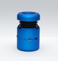 Wireless mini Bluetooth speaker 10W big sound U-disk play FM radio hamburger vibration speaker with microphone sucker Free Ship