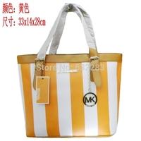 2014 European and American College Wind handbag shoulder bag handbag stripe package