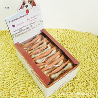 10pcs/Lot Dog- Dental Chews Bones, Natural Dog Snacks, Pet Molars Rod, Tooth Dental Care Cleaning Stick, Milk taste