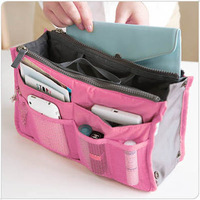 Cosmetic bag in bag / cosmetic Makeup storage bags / women's organizer handbag  optional