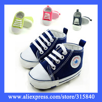 1Pair New 2014 Spring Autumn Canvas Baby Shoe For Girls Boys Sneakers Kids Children Shoe Infantil First Walkers -- ZYS67 PA05 SX