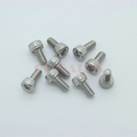 20PC M3*6mm 304 Stainless Steel Inner Hexagon Socket Head Cap Screw Fastener Nut