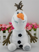 Hot Sell Frozen figure Doll Olaf 30cm plush toy lovely children toy Girl Gifts Doll Frozen Princess free air mail