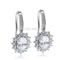 GNE0949 YFN Brand Jewelry Dangle Earrings 26.8*13.1mm for Women Free shipping 925 Sterling silver Jewelry Earrings Factory Price