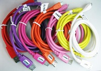 200pcs High speed Micro Smart USB Data Sync Charger Cable Line for Samsung HTC blackberry free DHL/Fedex