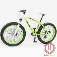 "F006 2014 New Shima Groupset 21-speed Beach Cruiser 18"" Fat Tire Bike Fatboy Bicycle Big Tire Snow Bike"