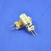 50pcs/lot SMD3014 24leds AC10-20V/DC10-20V Aluminum LED Crystal Bulbs 360 Beam Angle G4 LED Lamp Lighting Bulbs