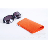 Free Shipping New Fashion Thicken High Quality Retro Wool Sunglasses Case Soft  Brand Glasses Case