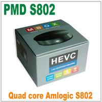 Highest Quality Amlogic S802 Quad Core 2.0GHz Android TV Box 2G/8G/16G Mali450 GPU 4K*2K HDMI OTA Android TV box