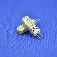 50pcs/lot DC12V SMD3014 24leds Aluminum LED Crystal Bulbs 360 Beam Angle G4 LED Lamp Lighting Bulbs