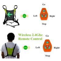 2014 Unique Wireless 2.4GHz BackPack LED Bike Light Biking Cycling Safety Rear LED Bike Light Traffic Indicator Remote Control
