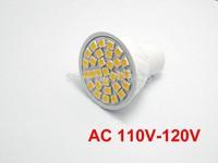 10X GU10 bulbs 30 leds 5050 chip AC 110V-120V  led spotlighting white warm white downlight lamp