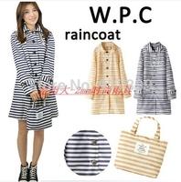 New 2014 raincoat  poncho bicycle trench rain coat hooded PVC women rain coat lightweight