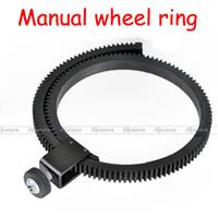 New Adjustable Gear Ring Belt for HDSLR Follow Focus FF DSLR Rig and Mount for DSLR fit  lens 65MM-105MM Free Shipping
