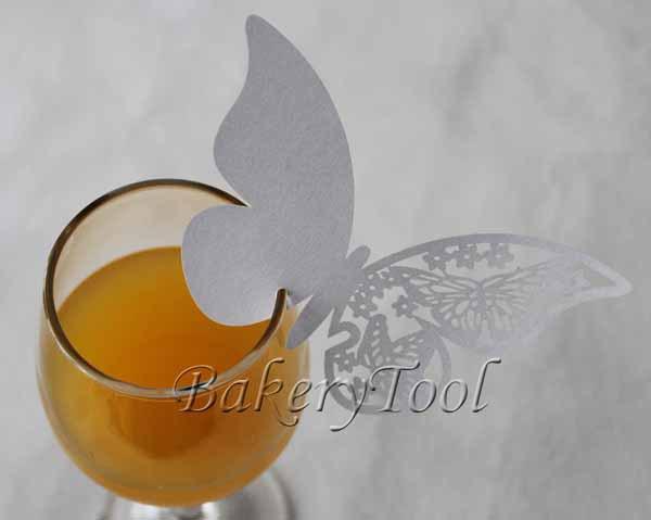 96 pcs copo cartões copo embalagens decorativas queque para copos decoração cartões de convite de casamento(China (Mainland))