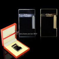 "HK Luxury FS Durout Pure Copper With Bright ""Cling"" Sound Cigar Cigarette Butane Gas Lighter"