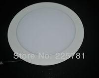 Free shipping DHL/FEDEX 6inch/15W Led panel light 10pcs/lot new Ultra thin design Downlight AC90-250V