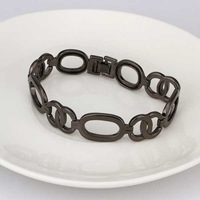 New Arrival Wholesale 925 Silver Bracelet,925 Silver Fashion Jewelry,Inlain Zircon Fashion Bracelet&Bangle SMTH340