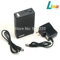 30pcs/lot DC 12V 6800mAh Portable Super Capacity Rechargeable Li-ion Battery Pack US Plug for CCTV Cam Monitor 5.5x2.1mm
