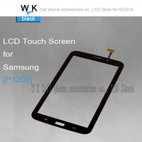 10PCS/LOT New Touch Screen Digitizer For Samsung Galaxy Tab 3 7.0 P3210 P3200  black colour free shipping