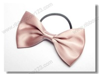 2014 fashion hair ribbon bow cute elastic ribbon hair bands