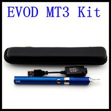 50pcs/lot DHL free Evod MT3 electronical ecigarette kit MT3 vaporizer e-cigarette ego evod battery for electronic cigarette kits