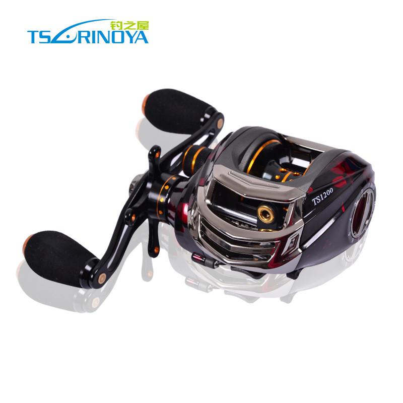 Trulinoya baitcasting reel TS1200 14 ball bearings 209g carp fishing gear Right Hand bait casting fishing reel(China (Mainland))