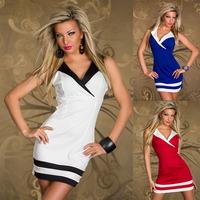 2014 new European Club clothes Sexy Lingerie Sexy Nightclub Dress Evening Cosplay Dress Women Vestido