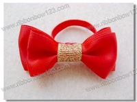 wholesale hair ribbon bow cute elastic ribbon hair bands