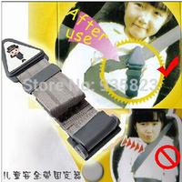 Free shipping Vehicle child safety belt holder regulator special protective safety seat belts,car receive bag