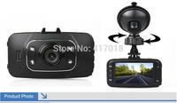 Free Shipping!!Original 2.7'' HD 1080P Car DVR 1.3MP Vehicle Camera Video Recorder HDMI Dash Cam G-sensor GS8000L