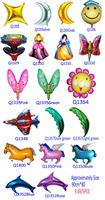 wholesale 5pcs/lot balloons aluminium 90*80cm party supplies balloon  More than 19design choose Free shipping