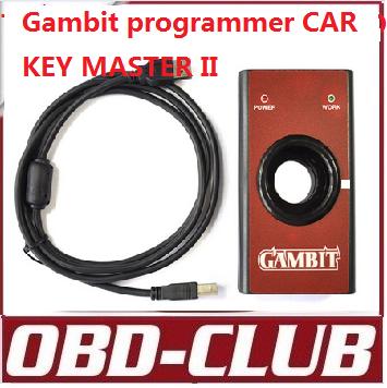 2014 gambit programador chave chave do carro master ii frete grátis(China (Mainland))