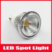Epistar Chip LED COB LED Lamp 5W E14 Spot Light Dimmable AC 100-240V Warm White / Cool White CE ROHS ,Free Shipping